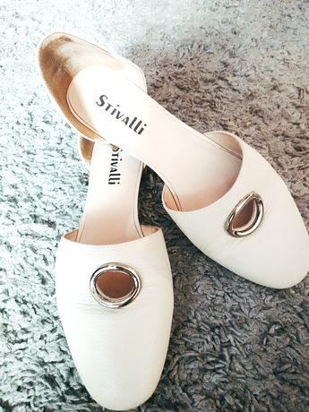 Женская обувь балетки кожаные  37 размер
