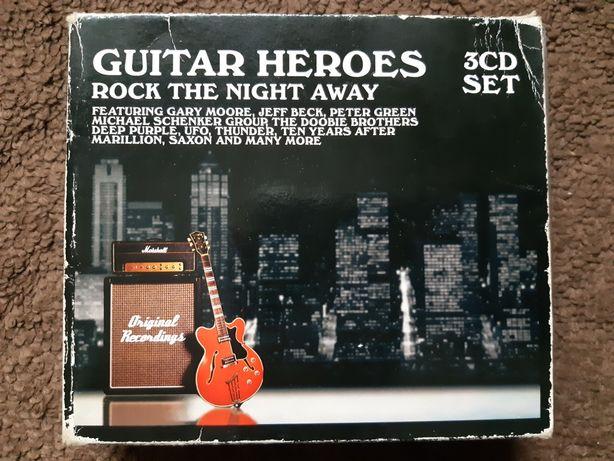 Guitar Heroes Rock the Night Away - zestaw - 3x CD - BOX