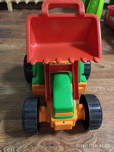Детский трактор orion