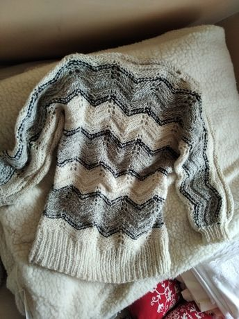 Sweter góralski damski wełniany