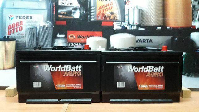 Akumulator 190Ah 6V WorldBatt 1000A C330 C360 T25 C385