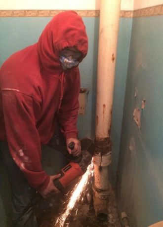 Водопровод замена стояков отопление канализация пайка труб сантехник