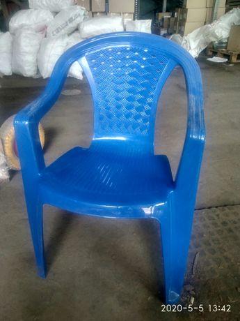 Крісло пластикове садове