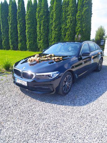 BMW G30 do ślubu auto