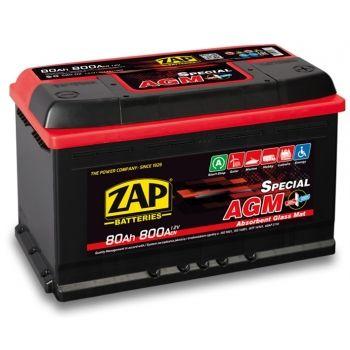 Akumulator 80Ah ZAP AGM START-STOP wysyłka cała Polska PROMOCJA!!!