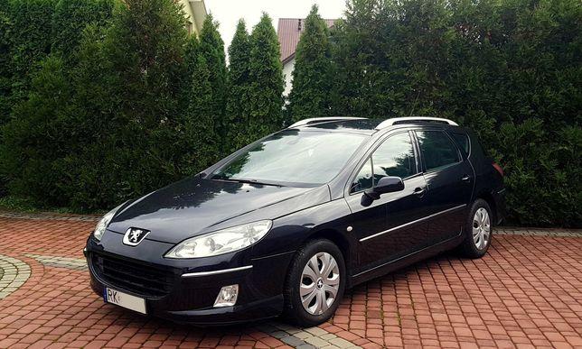 Peugeot 407 SW, I szy Właściciel, z Polskiego Salonu. 1.6 HDI