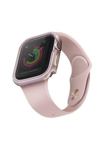 Capa Uniq Etui Valencia Apple Watch Series 4/5 44Mm - Blush Dourado Cor-De-Rosa