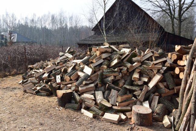 Drewno kominkowe i opałowe mix premium 40cm (buk, dąb, brzoza)