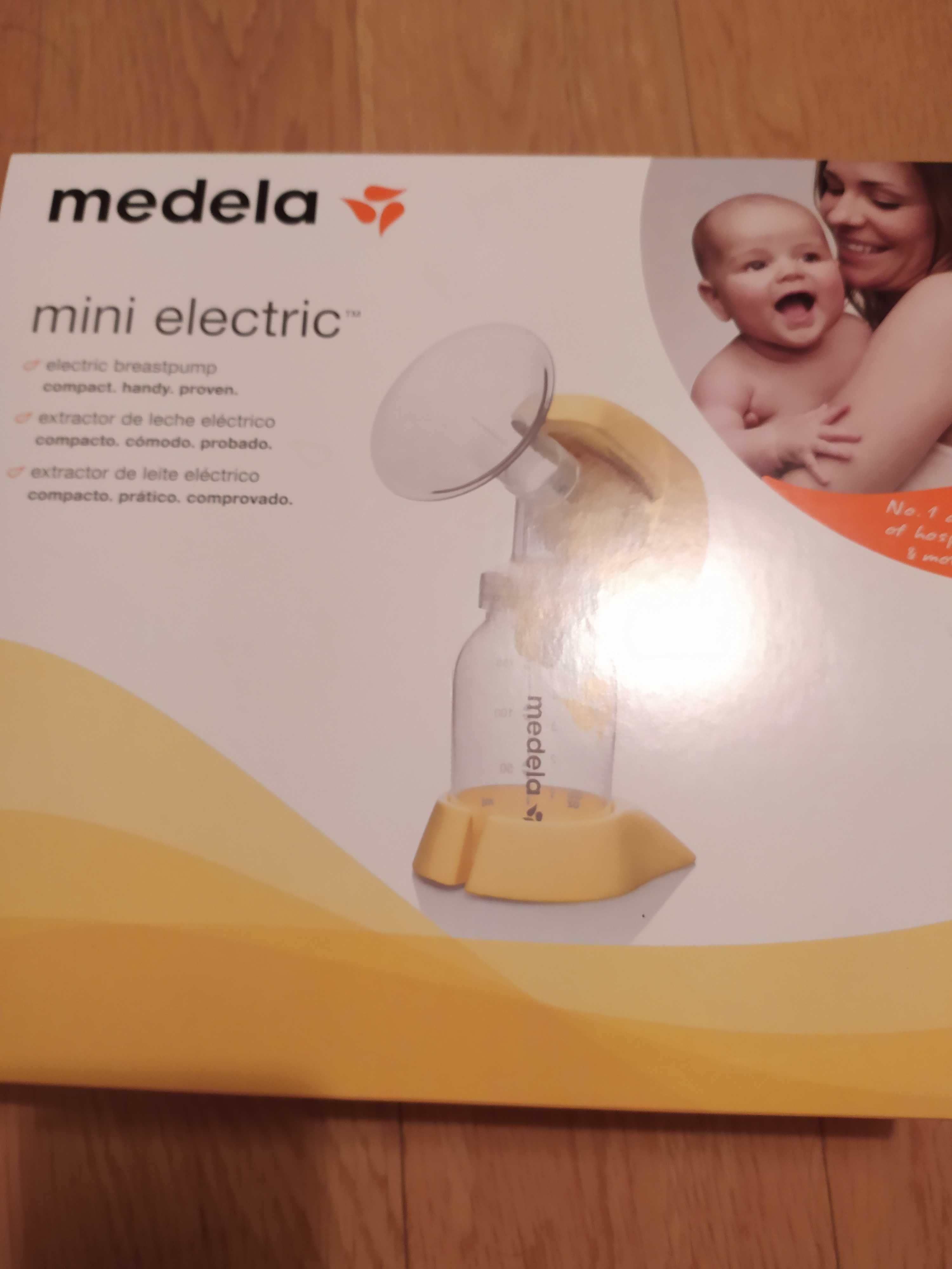 Mini eletric - Extrator de leite materno elétrico, marca medela