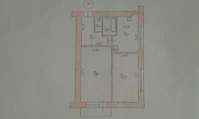 2-х комнатная квартира станция Кодня