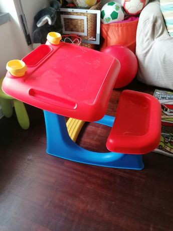 Secretaria de criança plástico