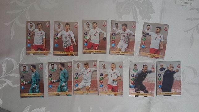 Karty z polskimi piłkarzami