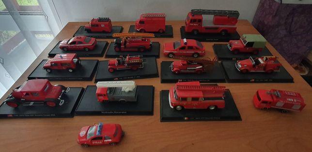 Modele wozów strażackich