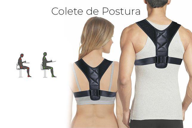 Colete ortopédico corretor de postura para a coluna e costas