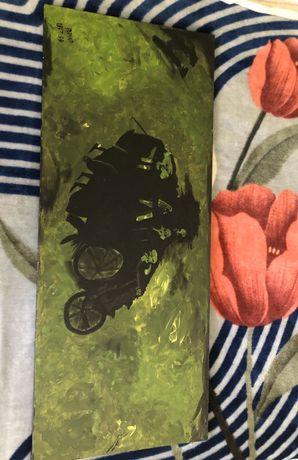 Quadro tela pintada