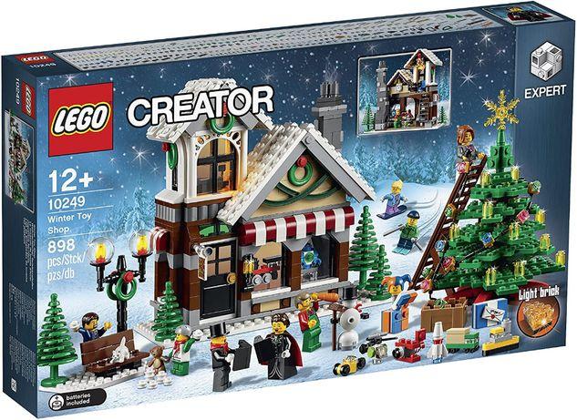 NOWE LEGO 10249 Creator Zimowy sklep z zabawkami
