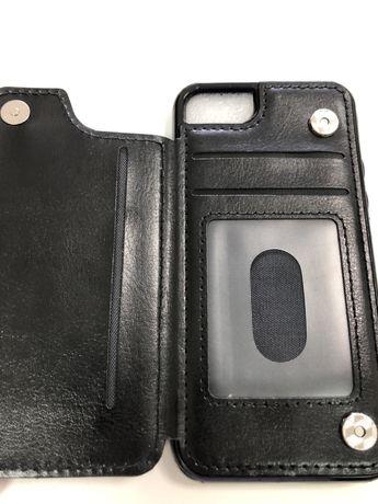 Capa para iphone 7 e 8 com separador para cartoes