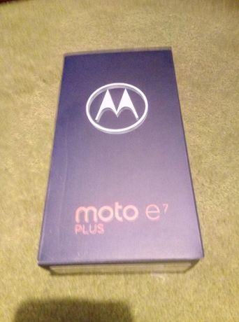 Motorola E7 PLUS Nowy, dual sim 6.5''