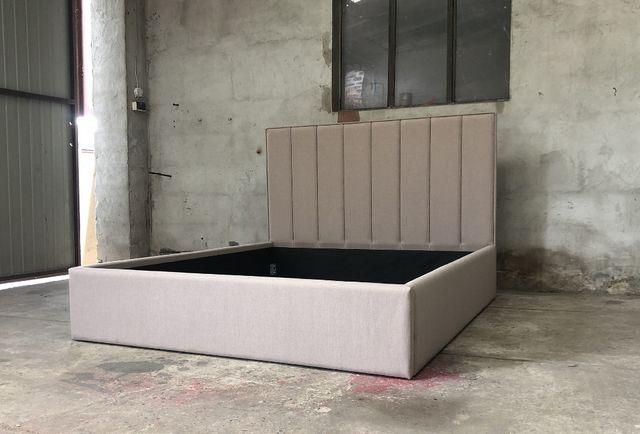 Łóżko sypialnianie 160 x 200 panele kafelki stelaż DOSTĘPNE
