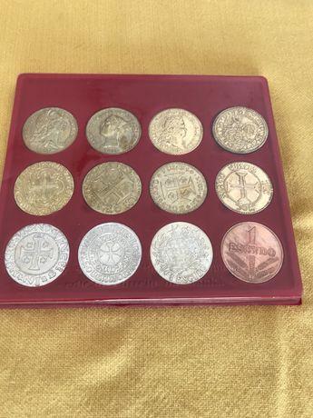 Coleção de moedas 10 seculos de moeda Portuguesa