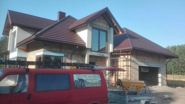 Krycie dachów ,dachy,usługi dekarskie.