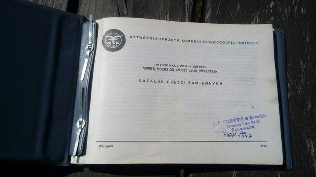 Katalog części zamiennych WSK