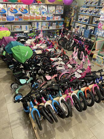Велосипеды детские Corso, Profi магниевые, стальные