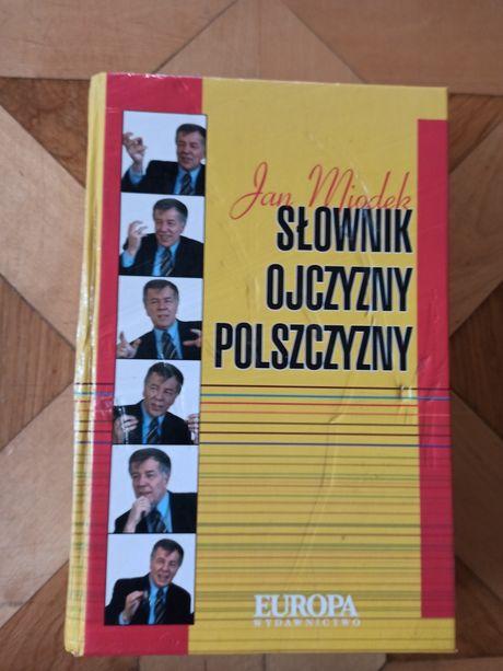 Słownik ojczyzny polszczyzny Jan Miodek