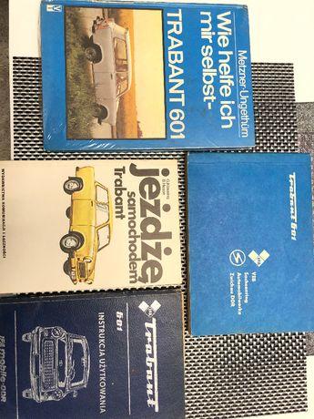 Instrukcja użytkowania TRABANT i inne podręczniki obsługi