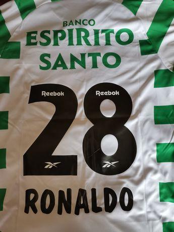Camisola Sporting Ronaldo Vintage