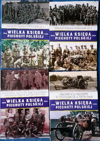 Wielka Księga Piechoty Polskiej - Tomy 52, 53, 54 i 55