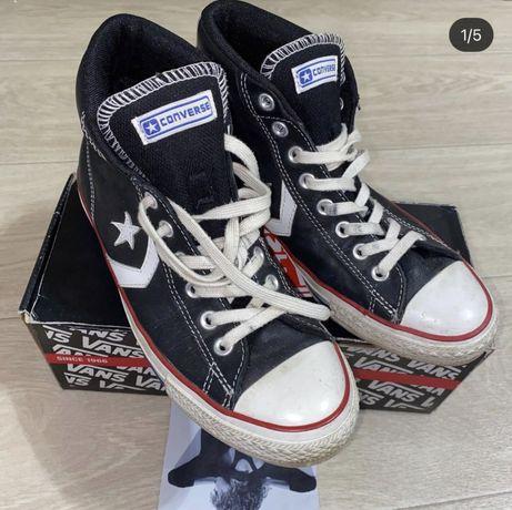 Кеды кожанеые Converse