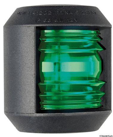 Lampa Nawigacyjna Czarna/Zielone Światło 112,5 Stopni Do Łodzi Jachtu