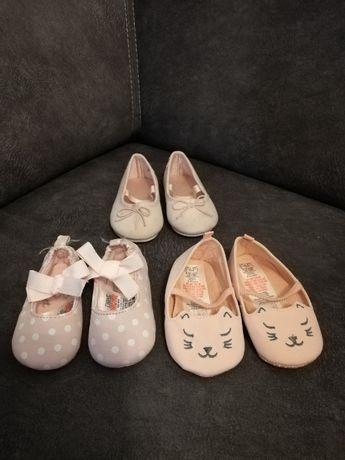 Baletki dla małej damy