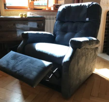 Krzesło Herdegen Success Microfibre Océan