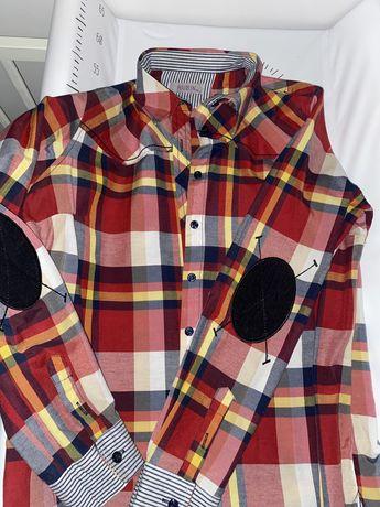 Koszule + kurtka parka