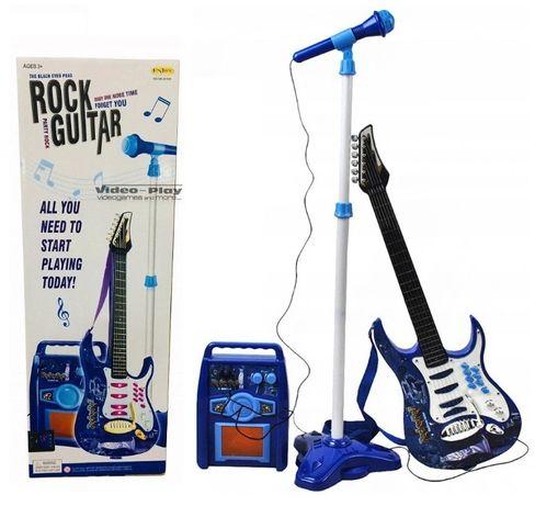 Gitara elektryczna wzmacniacz mikrofon dla dzieci *Video-Play Wejherow