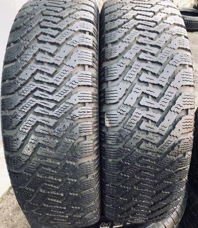 Goodyear 215/65r17 2 шт пара зима резина шины б/у склад