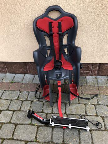 Fitelik/krzesełko na rower + bagażnik