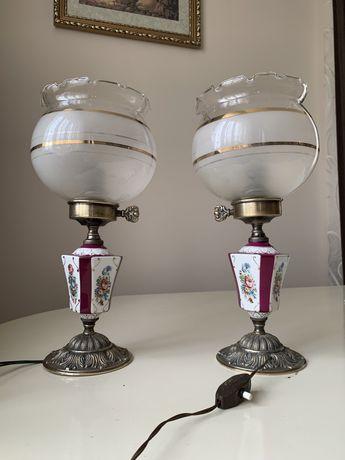 Антикварні бронзові лампи з Європи!