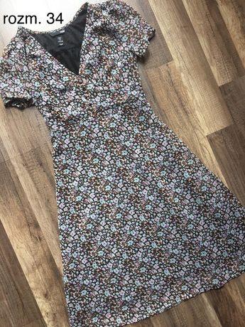 Sukienka H&M w rozm. 34 XS 2+1 GRATIS