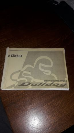 Yamaha BT Bulldog 1100 Instrukcja obsługi