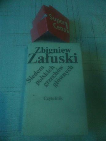 """książka """"siedem polskich grzechów głównych"""" Zbigniew Załuski"""