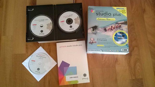 Pinnacle Studio Plus version 11 - program do obróbki filmów z kamer