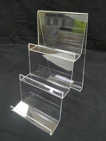 Подставка, горка, витрина под кошельки, телефоны, визитки (3 уровня)