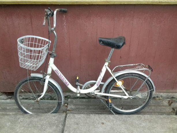 Велосипед складной как аист из Голландии