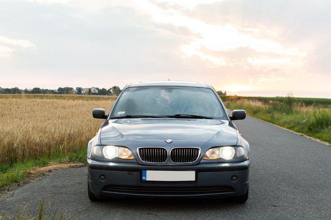 BMW 318i E46 benzyna+gaz