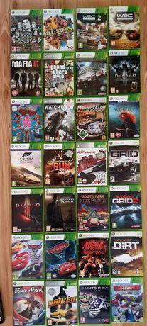WRC Tekken Dirt Cars 3 Diablo Grid gry Xbox 360