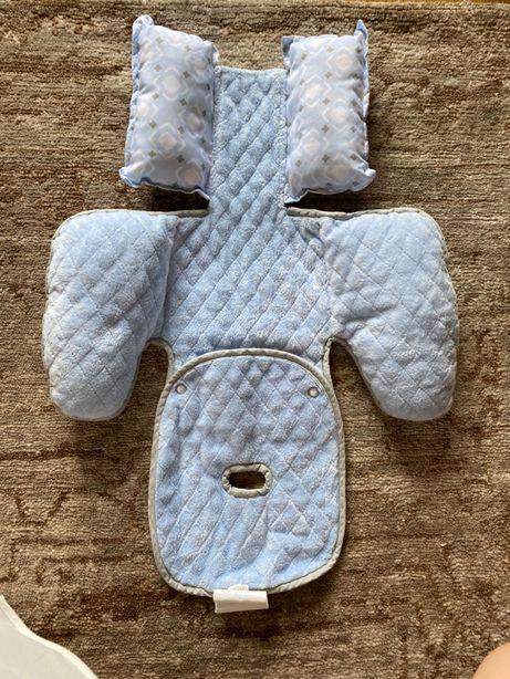 НОВАЯ! Мягкая защита и подкладка в кресло/коляску для новорожденных!