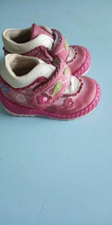 Кожаные ботиночки(осень-весна)